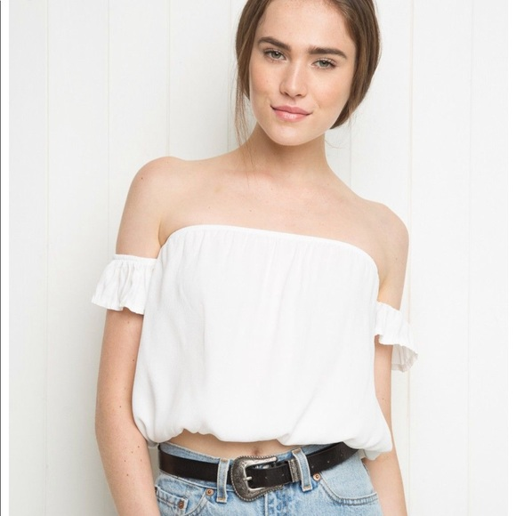 ce3d3cd4e5b Brandy Melville Tops - Brandy Melville Beccah Crop Top Tube Top